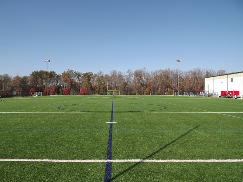 Fredericksburg Field House Outdoor Artificial Turf Athletic Fields