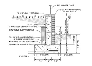Design Concrete Retaining Wall structural engineering software restrained retaining wall design Retaining Wall Design